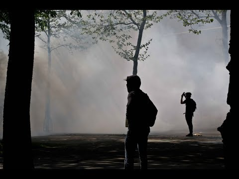 Paris : marche interprofessionnelle et convergence des luttes dans la violence