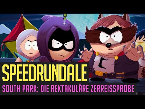 South Park: Die rektakuläre Zerreißprobe (Any%) Speedrun in 4:13:45 von Firepaw | Speedrundale