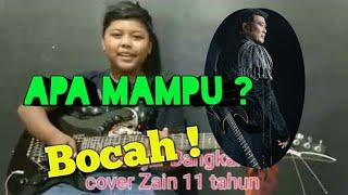Gitaris Dangdut cilik - Selevel Tony dan Rhoma irama - Sebujur Bangkai cover Zain
