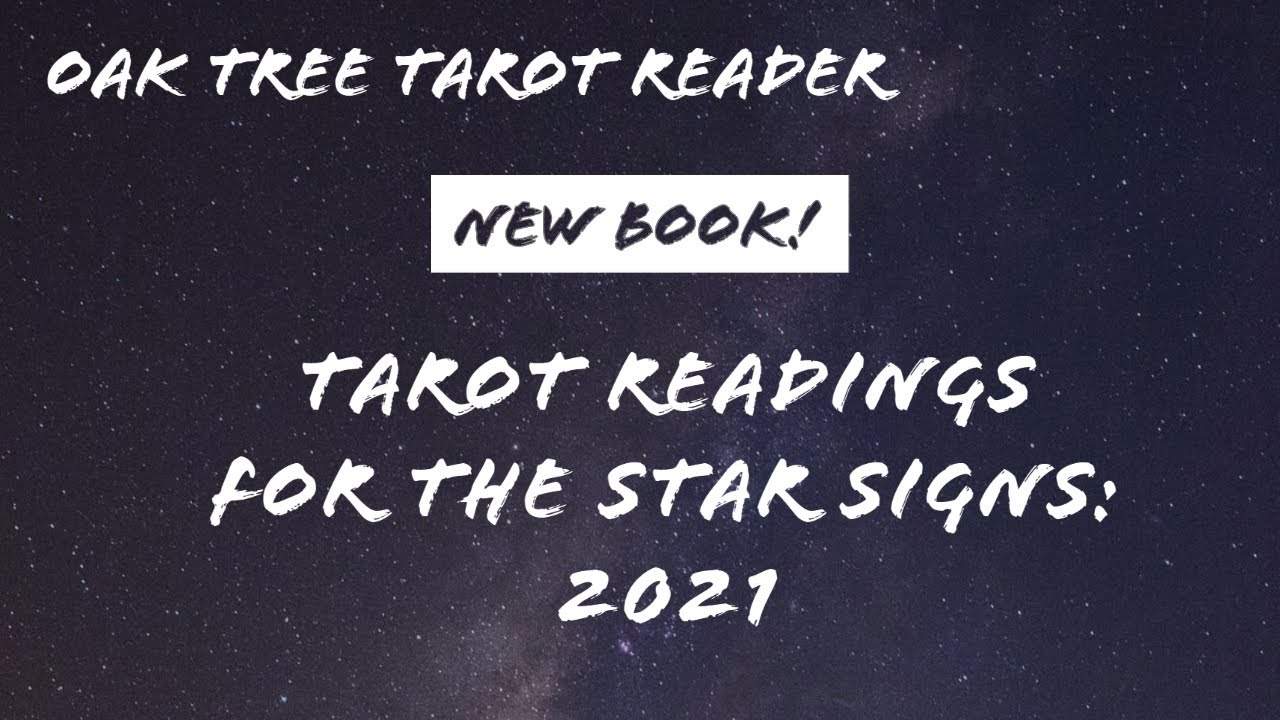 New tarot book! Tarot Readings for the Star Signs: 2021