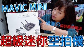 【開箱趣】老婆碎碎唸開箱超迷你空拍機Dji Mavic mini
