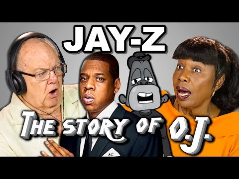 ELDERS REACT TO JAYZ  THE STORY OF OJ