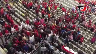 الجماهير تنفعل علي محمود طاهر بعد مباراة «الترجي»