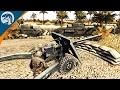 HEAVY ARMOR VS. LARGE CALIBER AT GUNS | ITALY MOD | Men of War: Assault Squad 2 [MOD] Gameplay