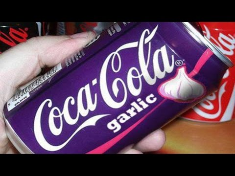 Will It Soda? - Coca Cola Garlic