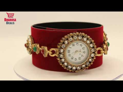 Ladies Watches Antique Style Jewelry Beautiful Watches Fw-04