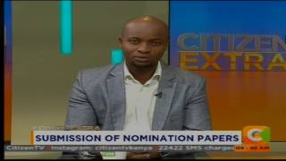 Submission of Nomination Papers (Part 1) #CitizenExtra