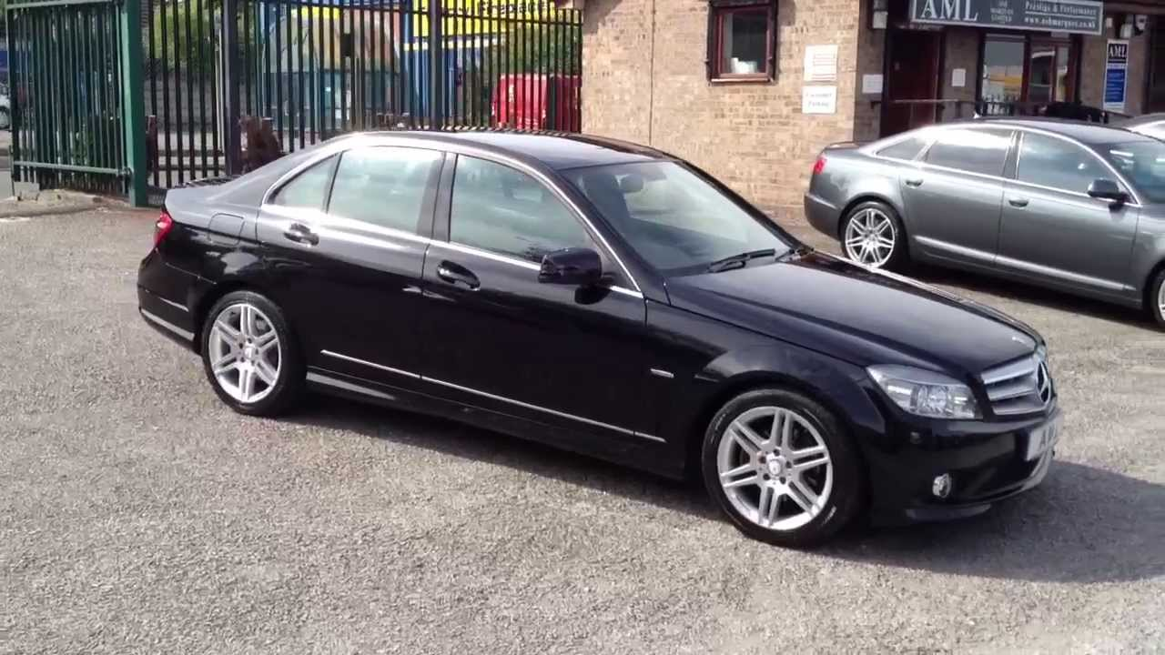 2010 60 mercedes c class c220 cdi blueefficiency amg sport 4d auto youtube. Black Bedroom Furniture Sets. Home Design Ideas
