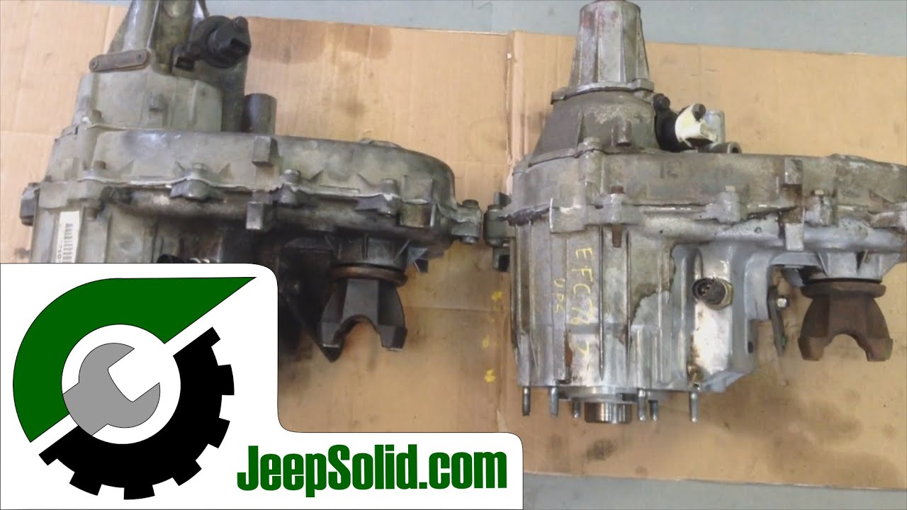 249 And 242 Transfer Case 249 Vs 242 Youtube