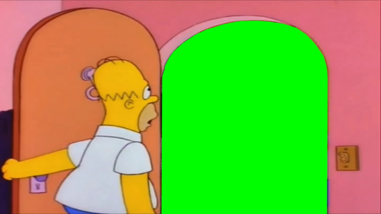 homer open door template youtube