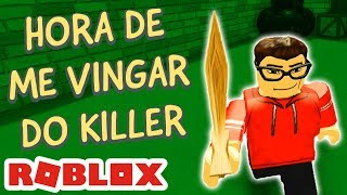 FUI ATRÁS DO KILLER! CONSEGUI MATAR? - DEATH RUN no ROBLOX