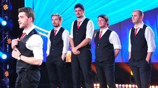 Backstage Boys, număr de improvizație pe scena iUmor