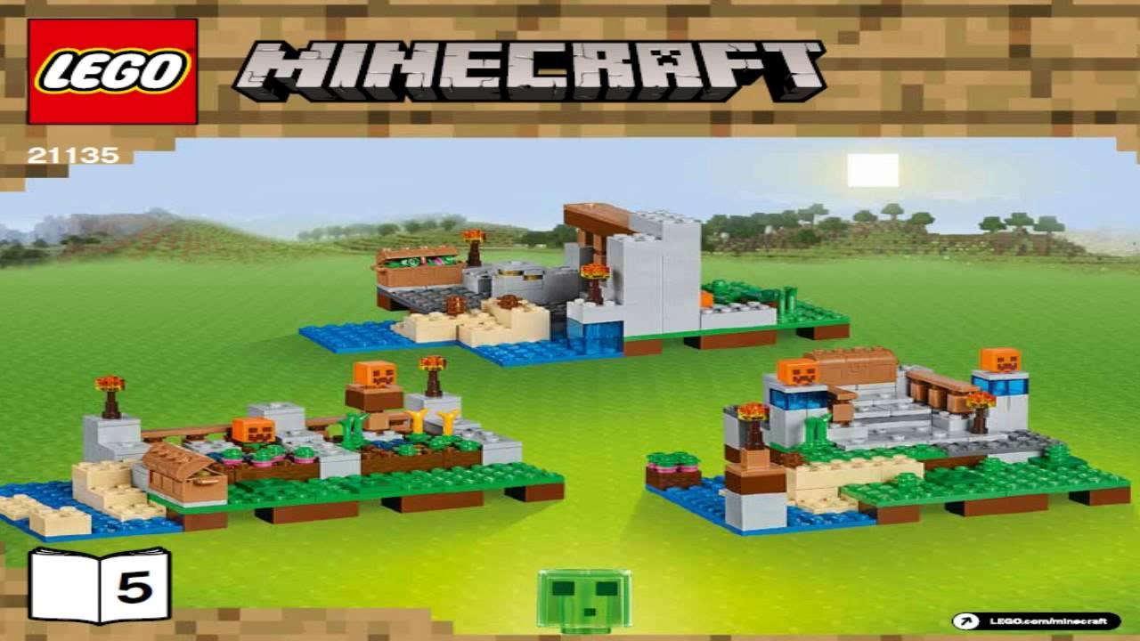 Лего майнкрафт набор для творчества