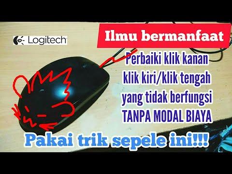 Service Mouse LOGITECH B100 Klik Kiri Tidak Berfungsi