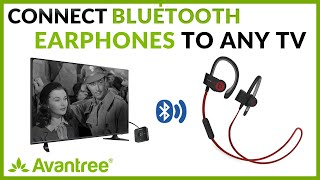 How to make your TV bluetooth with Avantree TC417