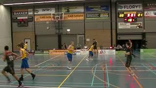 27 january 2018 Rivertrotters U22 vs Almere pioneers 51-67 2nd period