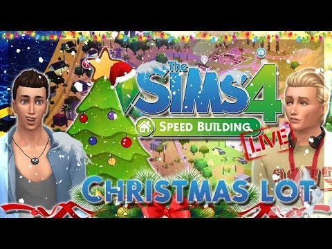 THE SIMS 4 ITA | BUILDING IN LIVE! | CHRISTMAS LOT *Natalizio* thumbnail