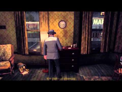 L.A. Noire 100% Walkthrough Part 85: The Set Up - Hotel El Mar HD
