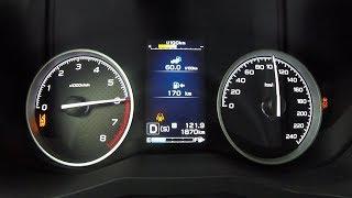 Новый Subaru Forester 2.0 - когда 2.5 не нужен? Разгон 0 - 100