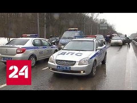 ДТП в Москве: на пересечении Энтузиастов и Свободного столкнулись 8 машин
