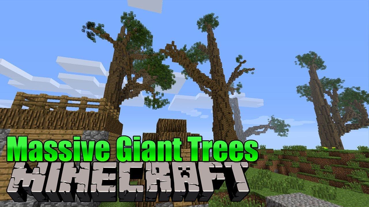 Mammutbäume Minecraft Mod YouTube - Minecraft spielerkopfe erstellen