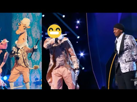 The Masked Singer - The Giraffe Performances and Reveal 🦒