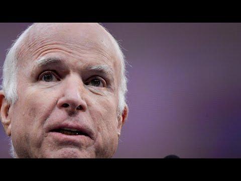 John McCain criticises 'spurious nationalism' in Liberty Medal speech