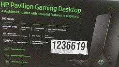 Costco | Hp Pavilion Gaming Desktop ( 690-0067c ) Unboxing |