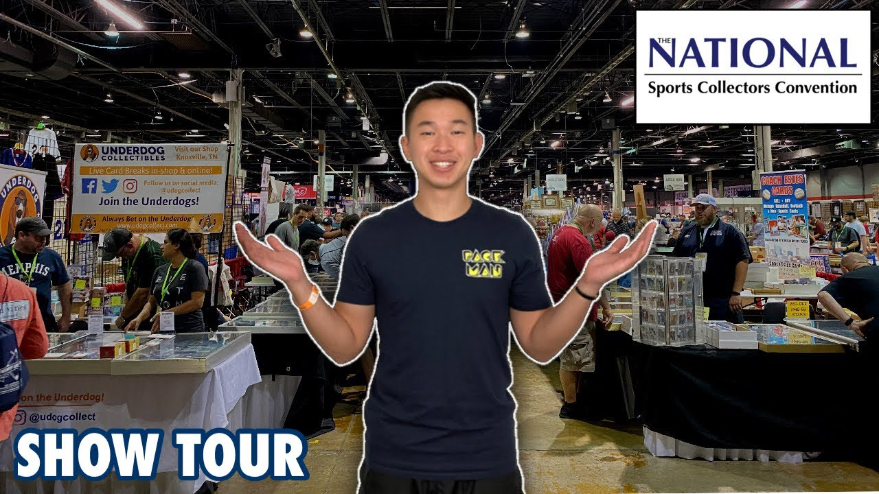 TOURING THE BIGGEST SPORTS CARD SHOW IN THE WORLD! 2021 National Sports Collectors Convention Vlog