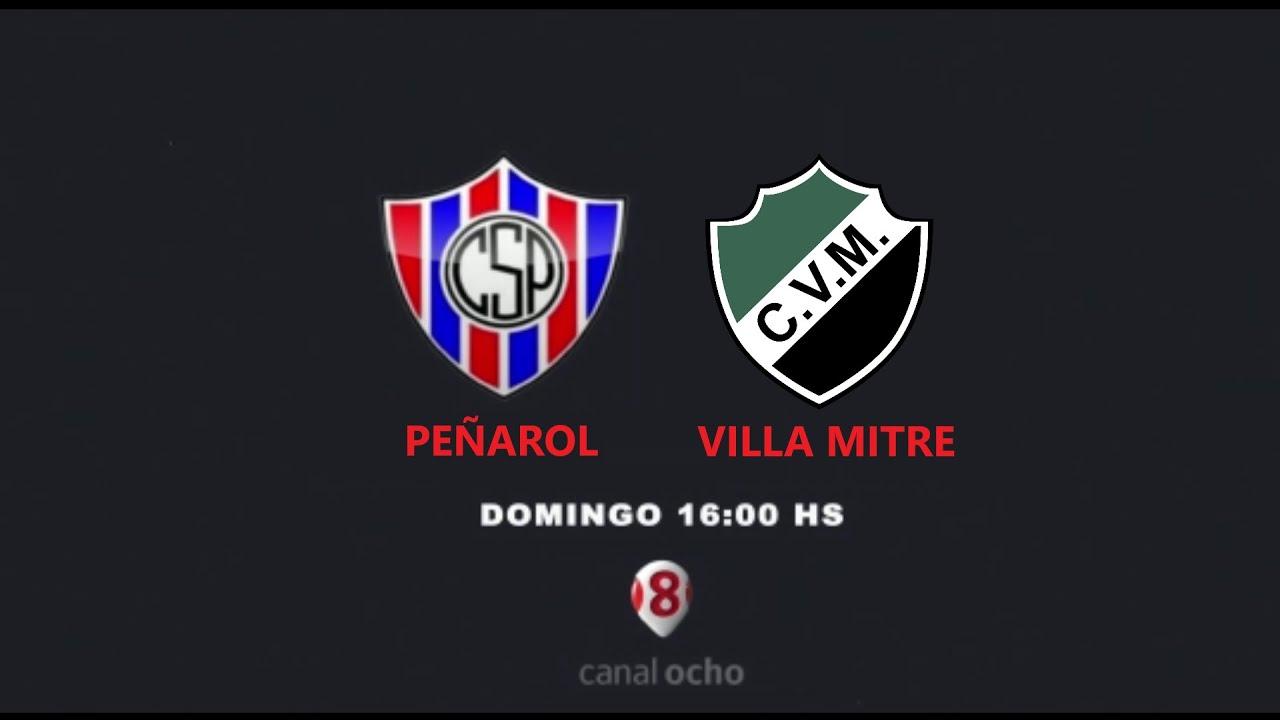 PEÑAROL (SJ) vs. VILLA MITRE (BB) - TORNEO FEDERAL A 2021 - FUTBOL