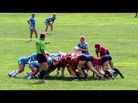 All American U18 Girls Rugby vs Quebec 2016