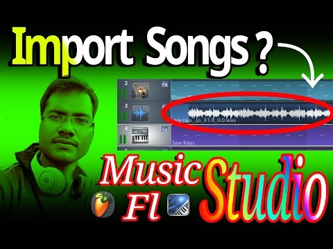 How To Import Songs In Music Studio| Dj Music Production| Music Recording| Dj Mixer For Beginners
