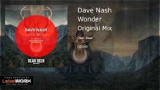 Dave Nash - Wonder (Original Mix)