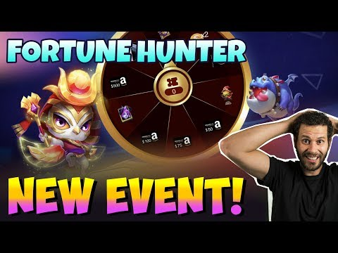 Fortune Hunter Event For $500 Or IPHONE Castle Clash