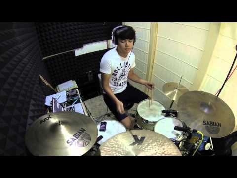 Wait Until Tomorrow DRUM COVER by Kevin Lin [GOPRO HERO3]