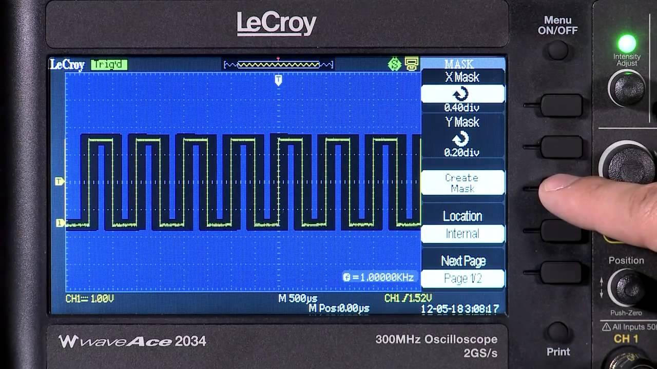TELEDYNE LECROY WAVEACE 2034 OSCILLOSCOPE TELECHARGER PILOTE