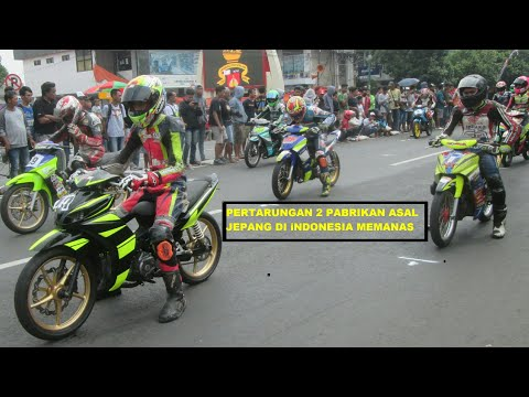 YAMAHA VS HONDA ROAD RACE PIALA BUPATI SRAGEN 2018