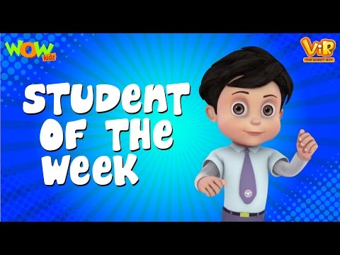 Vir The Robot Boy | Hindi Cartoon For Kids | Student of the
