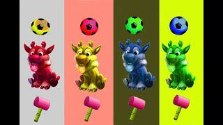 Learn colors from basket ball with sheep from Bingo Funny Rhymes Tv     #BingoFunnyRhymesTv