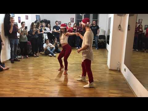 Dante&Justine Kizomba Christmas Workshops Kraków 2018 Dj Madej x Vicky Linden- A Fila Anda