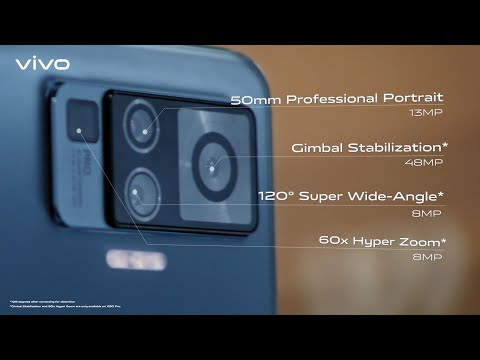#vivoX50Series | With Gimbal Camera System & Extreme Night Vision