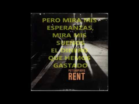 Rent  Pet Shop Boys  Subtitulado al Español