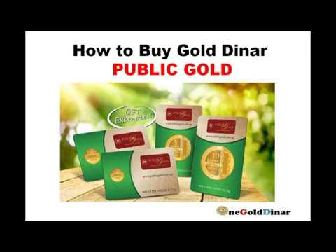 How to Buy Gold Dinar Public Gold online 24/7
