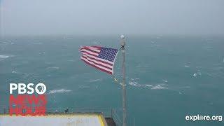 WATCH: Hurricane Dorian approaches Cape Fear, North Carolina