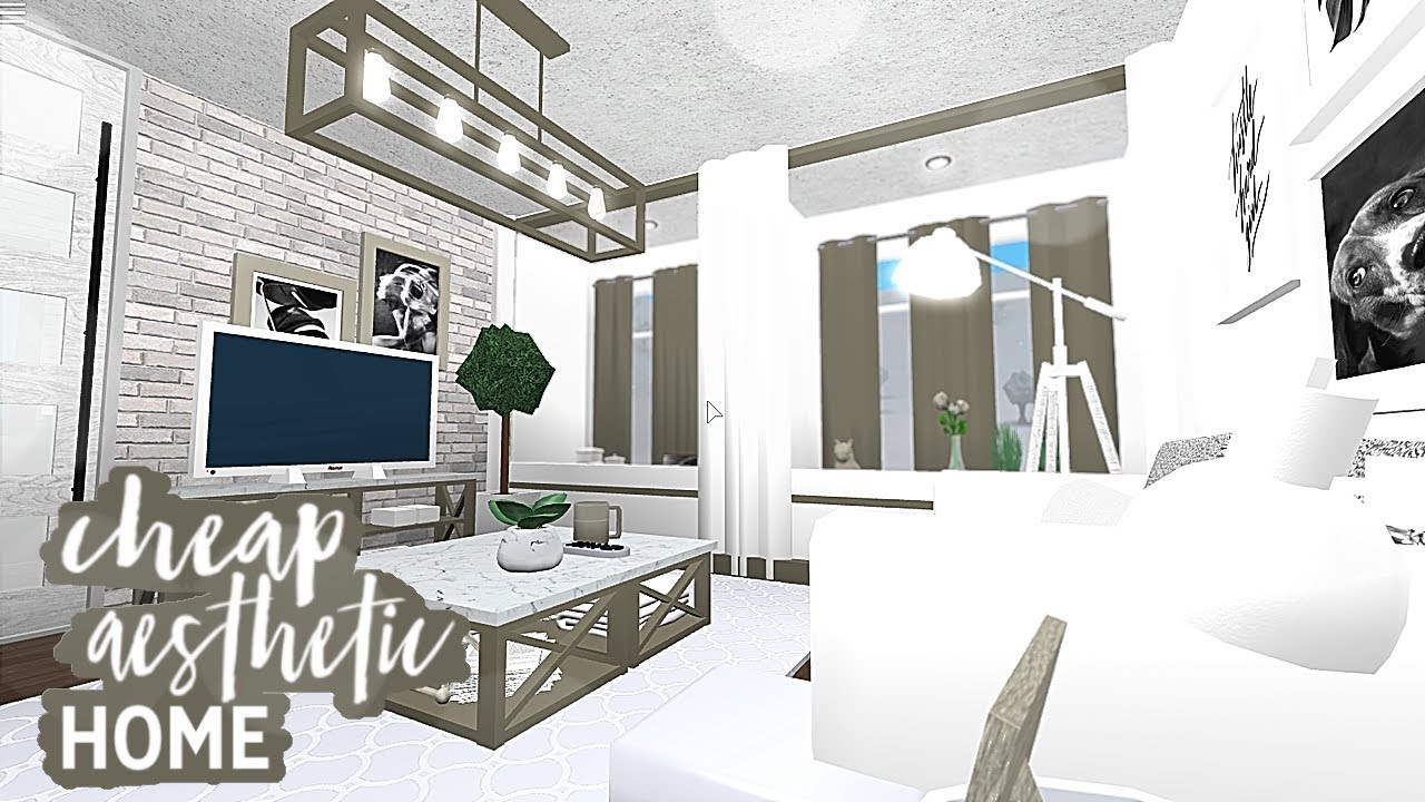 Roblox | Bloxburg | Cheap Aesthetic Starter Home - YouTube