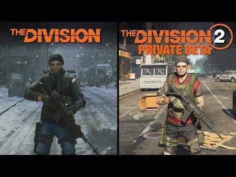 The Division 2 (BETA) vs The Division   Direct Comparison