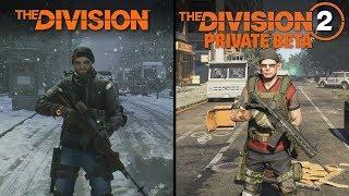 The Division 2 (BETA) vs The Division | Direct Comparison