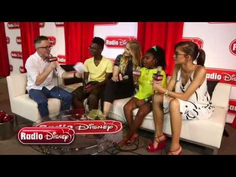Cast of K.C. Undercover at D23 Expo 2015 | Radio Disney