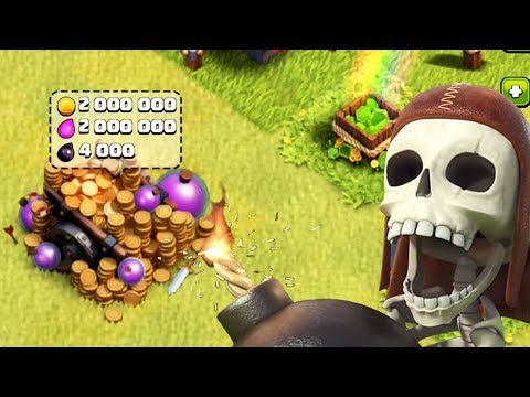 2,000,000 MAX LOOT CART | Clash of Clans | TH 10 Dead Base Account