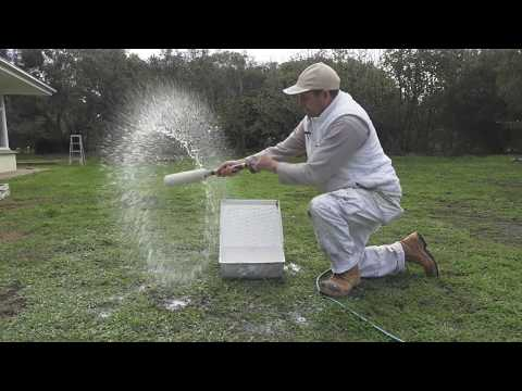 How to clean a paint roller. Making sure the paint roller is clean and washed properly.